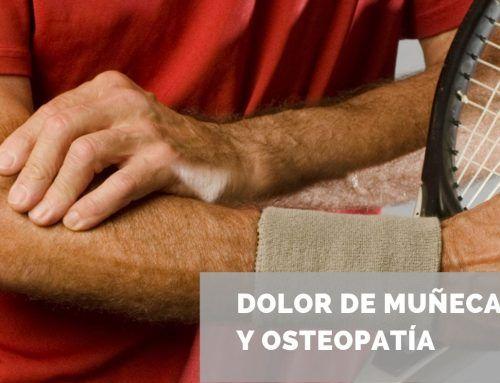 Dolor de muñeca, codo y osteopatía